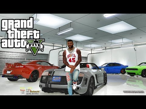 GTA 5 MOD#218 LET'S GO TO WORK!! (GTA 5 REAL LIFE MOD)
