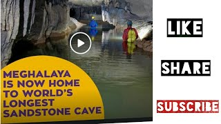 World's longest Sandstone Cave || Krem Puri || Meghalaya || North East India || MeGhalaya Alive! ||