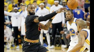 Top 10 Assists from the 2017 NBA Finals