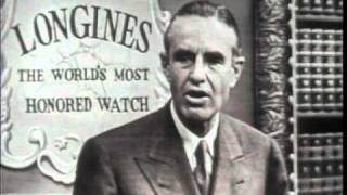 LONGINES CHRONOSCOPE WITH W. AVERELL HARRIMAN