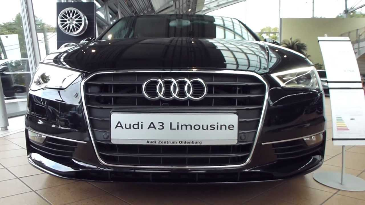 2014 audi a3 limousine exterior interior 2 0 tdi 150 hp see also playlist youtube. Black Bedroom Furniture Sets. Home Design Ideas