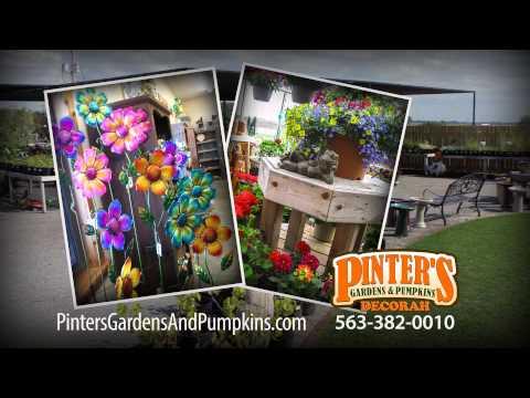 Pinter's Garden Center in NE Iowa