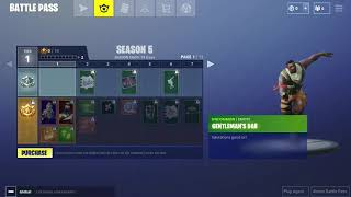 Fortnite Battle Royale - Gentleman's Dab Emote! (Saison 5 Battle Pass)