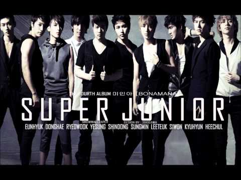 Super Junior - BONAMANA (Audio)