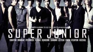 Super Junior - BONAMANA (Audio)