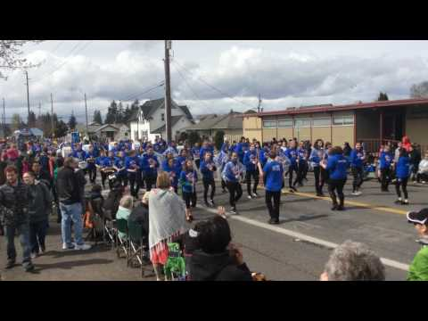 Graham Kapowsin High School Band - 2017 Daffodil Parade