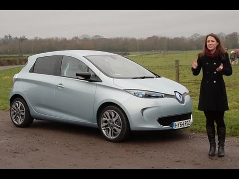 2019 Renault ZOE new electric car review - YouTube