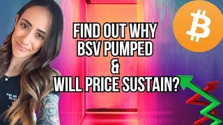 BITCOIN TECHNICAL ANALYSIS - WHY DID BSV PUMP AND WILL PRICE SUSTAIN - AKON CITY - CONGRESS STUDY