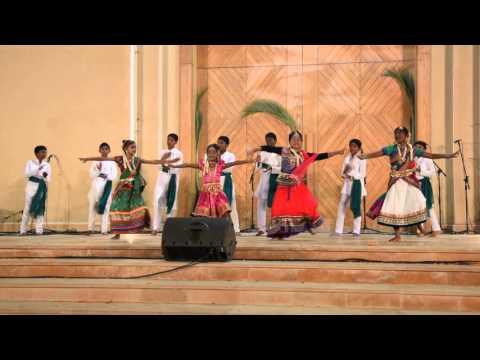 Christmas  at Church , Qatar DOHA  Tamil community Dance
