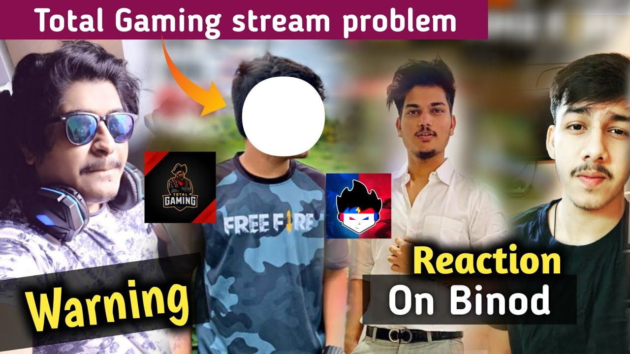 Total Gaming stream problem || Gyan gaming warning || Aura gaming message || Two side gamer react