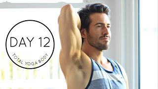 Day 12 Total Yoga Body: 15 minute Strength and Flexibility Morning Vinyasa Flow Workout   Yoga Dose