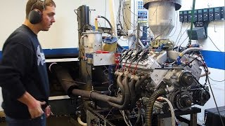 800 Horsepower Carbureted Chevy LS7 on the Dyno