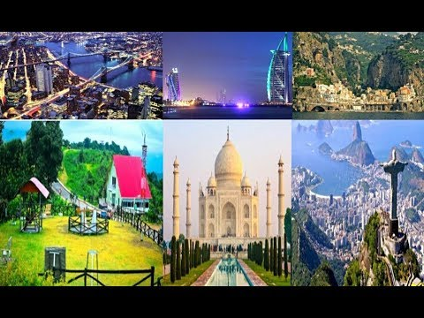 Top 6 Most beautiful places in The world.  Attractive place of Six country