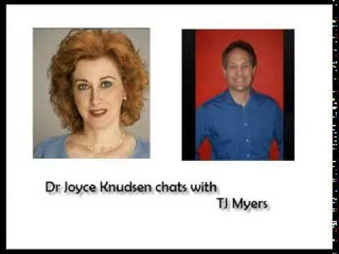 Dr Joyce chats with TJ Myers