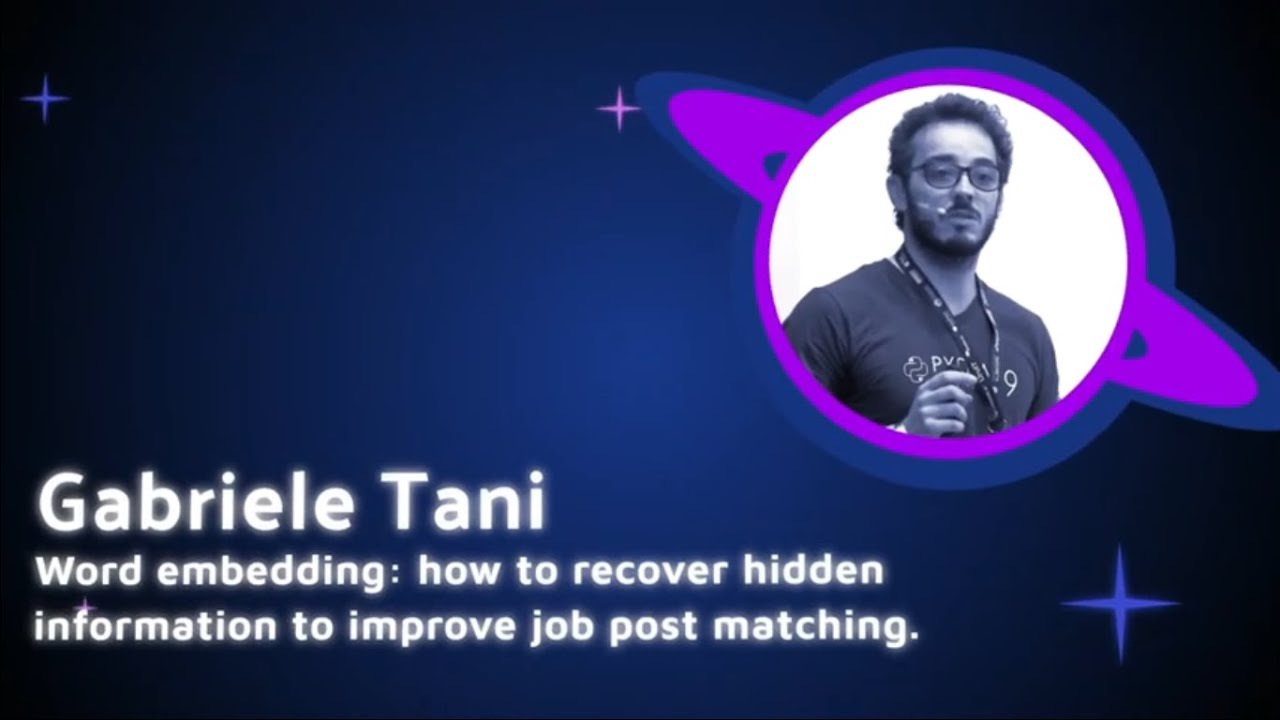 Image from Gabriele Tani - How to recover hidden information to improve job post matching - PyCon Colombia 2019