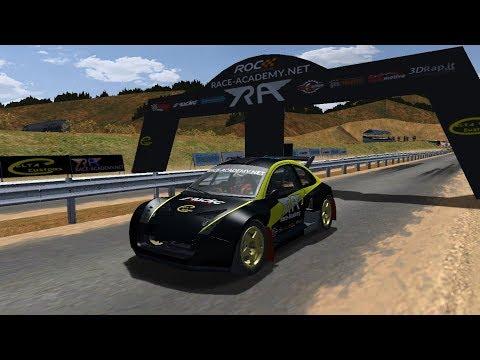 RA - Race of Champions 2017 Test Lap