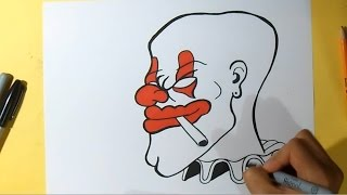 Cómo dibujar un Payaso | Wizard art - by Wörld
