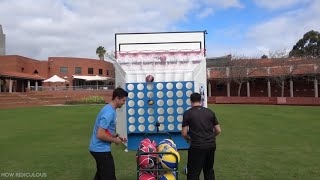 Basketball Connect 4, the new sport