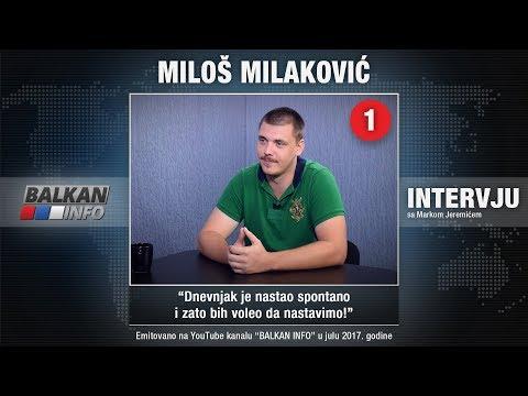 INTERVJU: Miloš Milaković - Dnevnjak je nastao spontano i zato bih voleo da nastavimo! (29.07.2017)