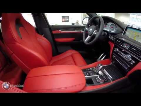 Bmw X6 M Black On Red Bmw West Island Montr 233 Al 1 866 200