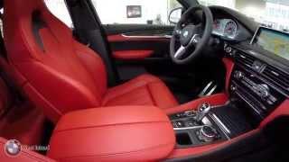 BMW X6 M black on red BMW West Island Montréal - 1 866-200-2121