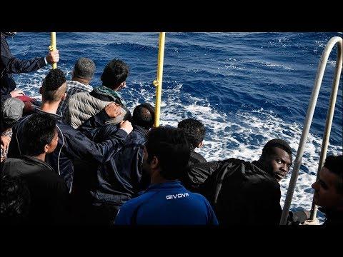 New Italian govt closes ports, stranding migrant ship at sea