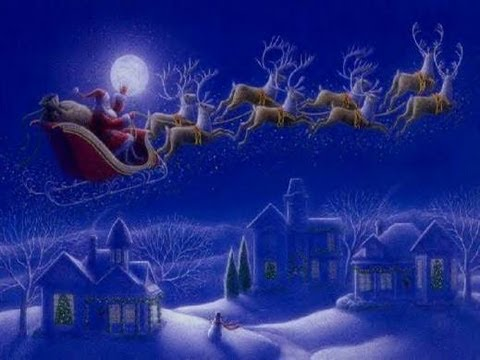 Twas the night before Christmas - Listen as Santa reads the story of the night before Christmas