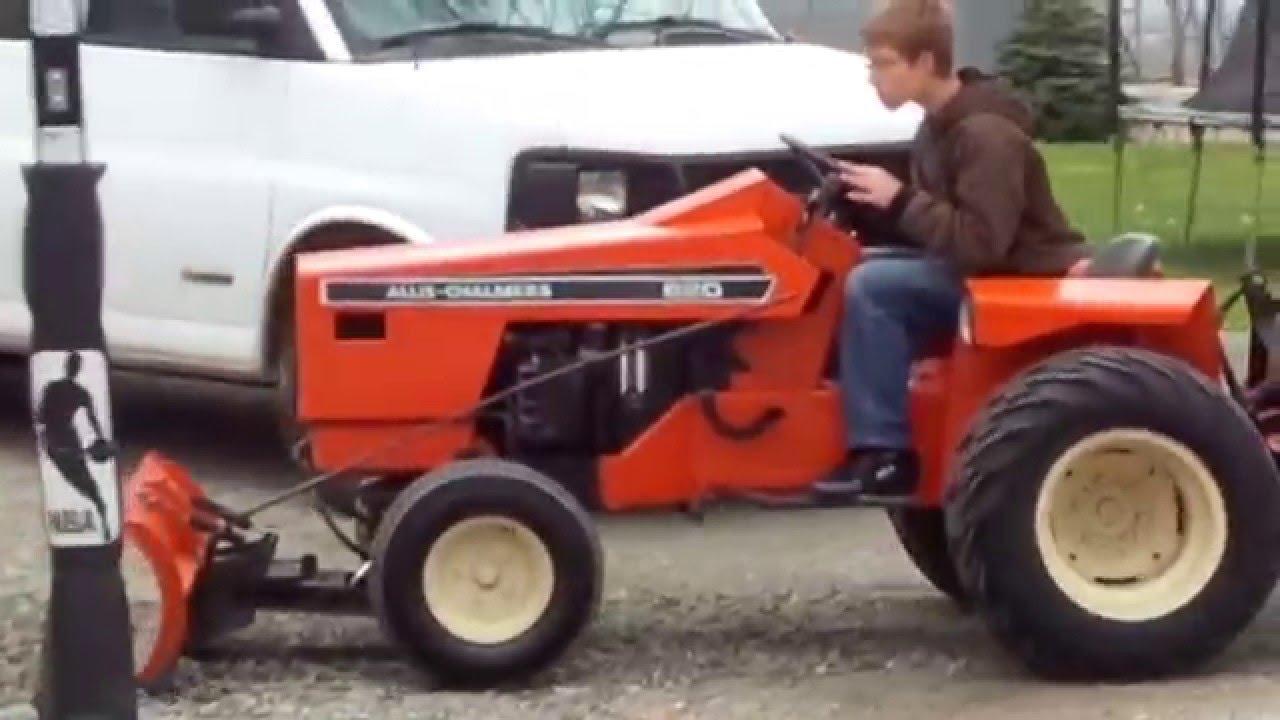 Allis Chalmers 720 Garden Tractors Used