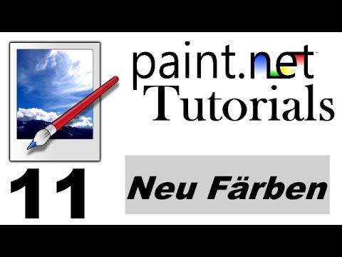 Paint.net Tutorial [German/Deutsch] - Neu Färben | 11 - YouTube