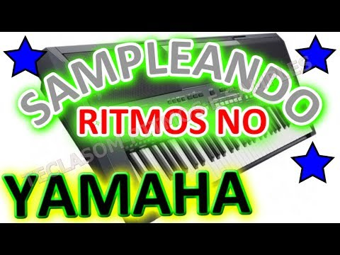 COMO SAMPLEAR UM RITMO NO S750 S950,SAMPLES INTERNO YAMAHA