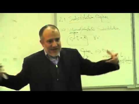 Lec 1 CLASSICAL ENCRYPTION TECHNIQUES     DR IHAB
