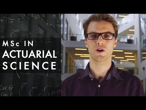 MSc in Actuarial Science at University College Dublin