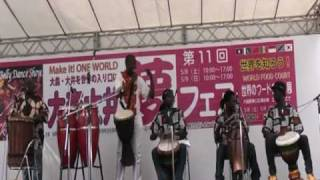 大森・大井「夢フェア」アフリカンミュージック by わーるどのーとmusic