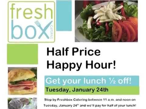 Freshbox Catering Digital Marketing - YouTube