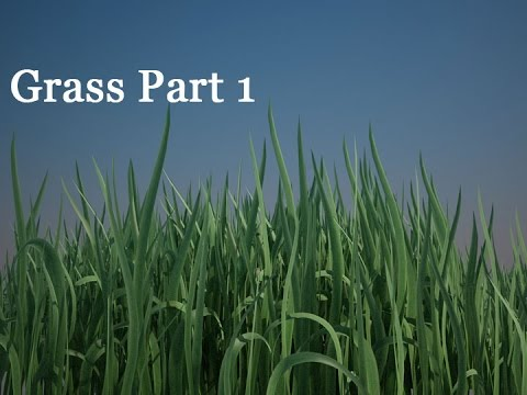 3D Grass - Part 1 - High Quality Grass