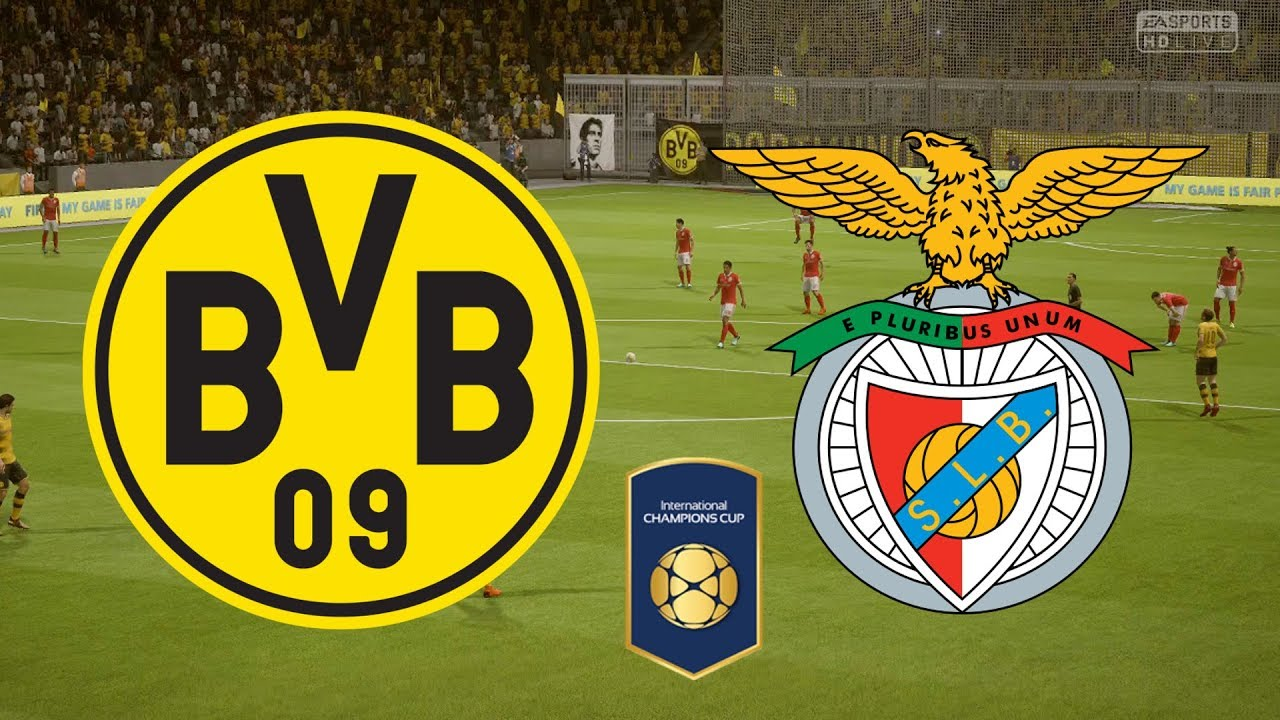 Image result for Borussia Dortmund v Benfica International_Champions_Cup