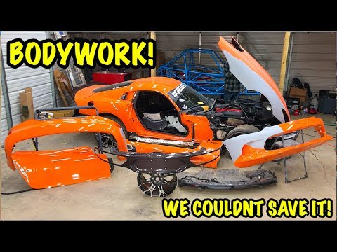Rebuilding A Wrecked 2014 Dodge Viper TA TIME ATTACK PART 10