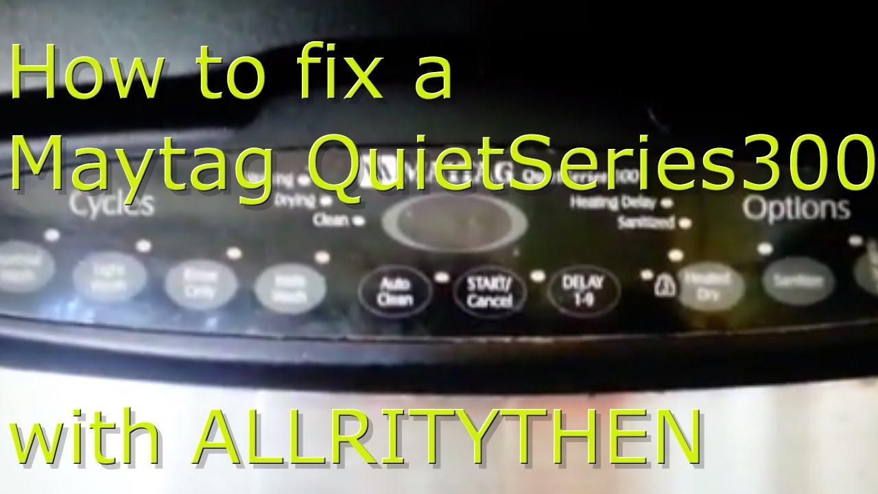 Maytag Quiet Series 300 Control Board Caroldoey