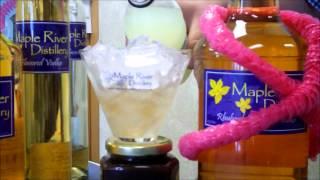 Rhubarb Vodka Lemonade Made With Maple River Distillery Rhubarb Vodka