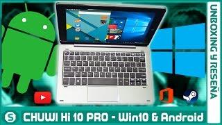 Chuwi Hi 10 PRO - Tableta Dual OS (REVIEW en ESPAÑOL)