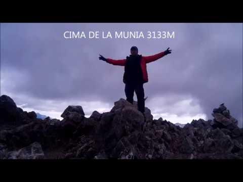 ascensión al pico la munia 3133 metros