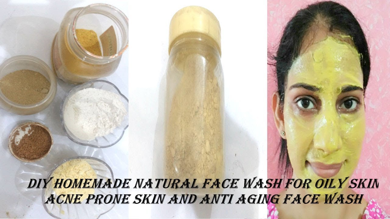 Homemade Natural Face Wash for Acne