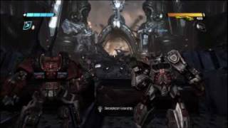 transformers war for cybertron new gameplay