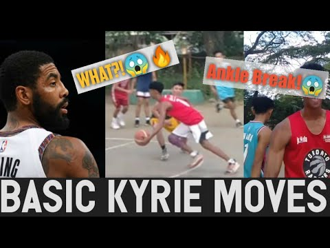 (Must Watch!)Heated Up!🔥Like Kyrie Irving/Steph Curry Shooting and Moves😱🔥