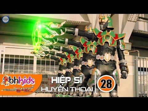 Siêu Nhân Hiệp Sĩ Huyền Thoại (Legend Heroes) Tập 28 : Biến Hình 5 Hiệp Sĩ