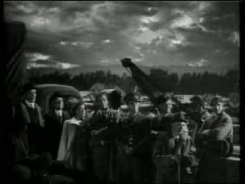 British World War 2 Propaganda film clip - Sherlock Holmes