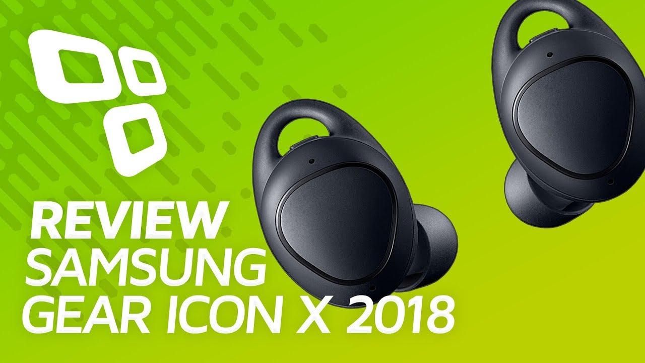Samsung Gear IconX 2018: review/análise [vídeo] - TecMundo
