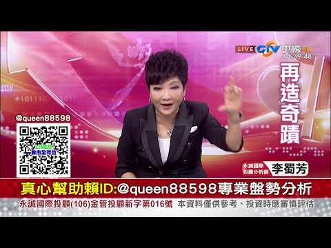 中視【李蜀芳2019/08/19】股市全芳位