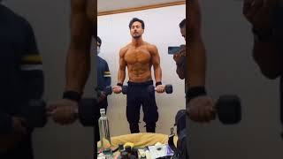 Tiger Shroff Getting Ready For Action