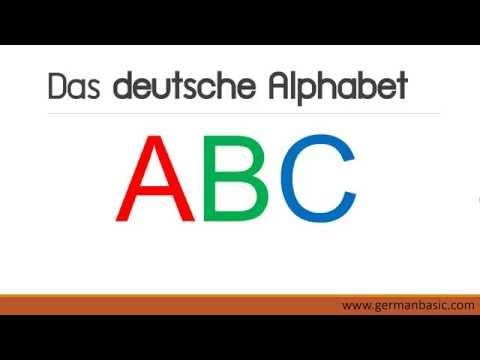 เรียนภาษาเยอรมัน abc 1